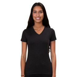 All Made A2018T Ladies TriBlend V-Neck Shirt Thumbnail